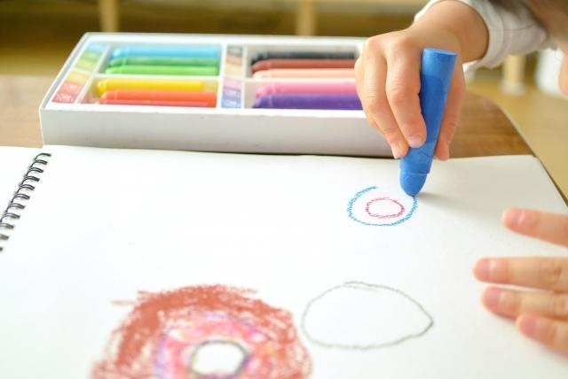 3歳の書きの発達の様子
