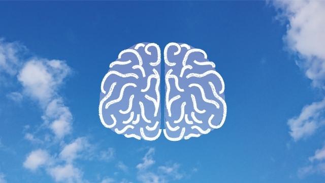 無限大の可能性を表す脳のイラスト